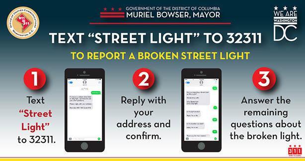 Report Broken Street Lights