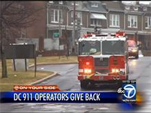 DC 911 Operators Give Back