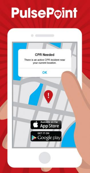 Download the PulsePoint app